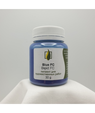 Pigment naturalny- Błękit FC
