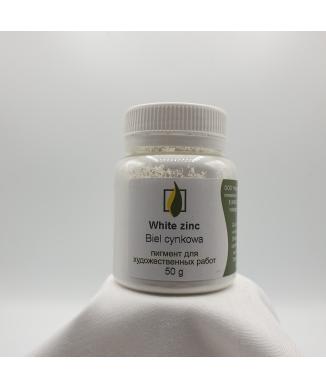 Natural pigment- White zinc